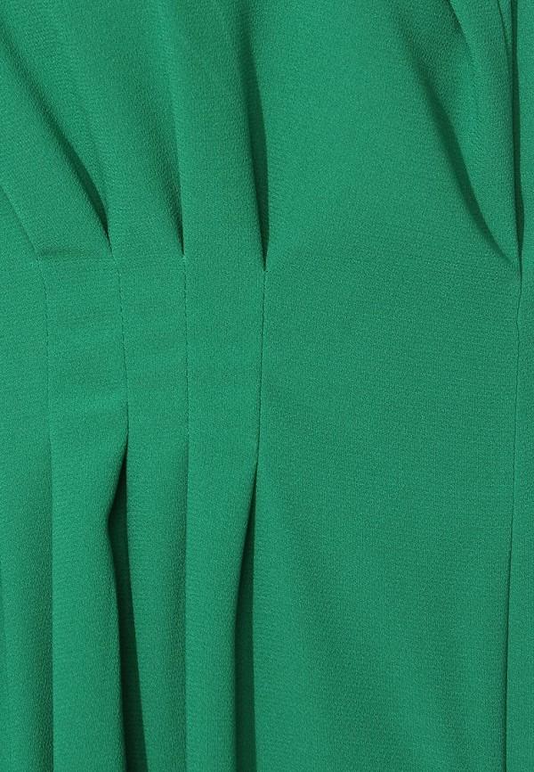 Фото 5 - женское вечернее платье Tutto Bene зеленого цвета