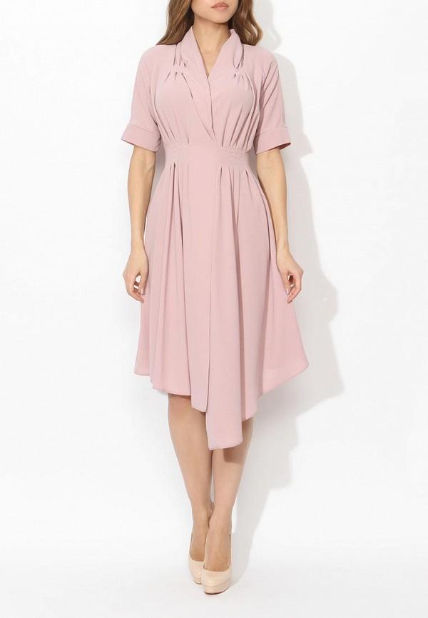 Фото 2 - женское платье Tutto Bene розового цвета