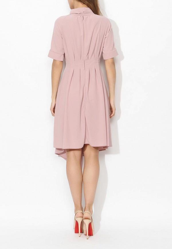 Фото 4 - женское платье Tutto Bene розового цвета