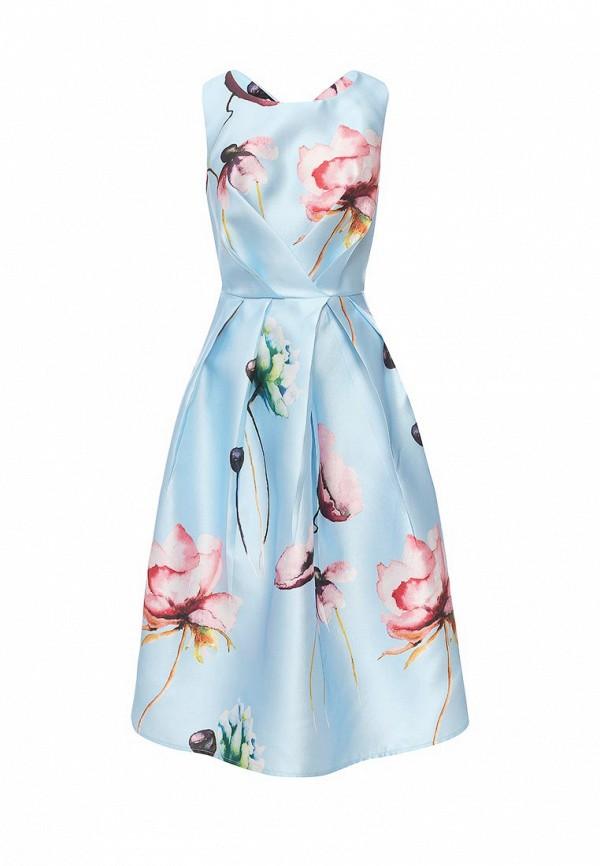 Фото - женское вечернее платье Tutto Bene голубого цвета