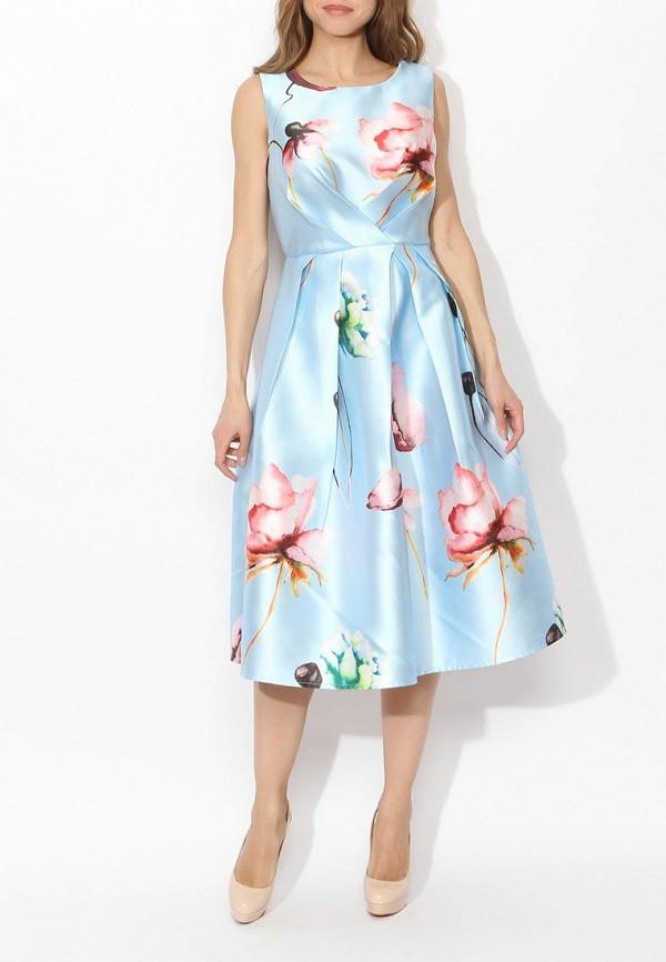 Фото 2 - женское вечернее платье Tutto Bene голубого цвета