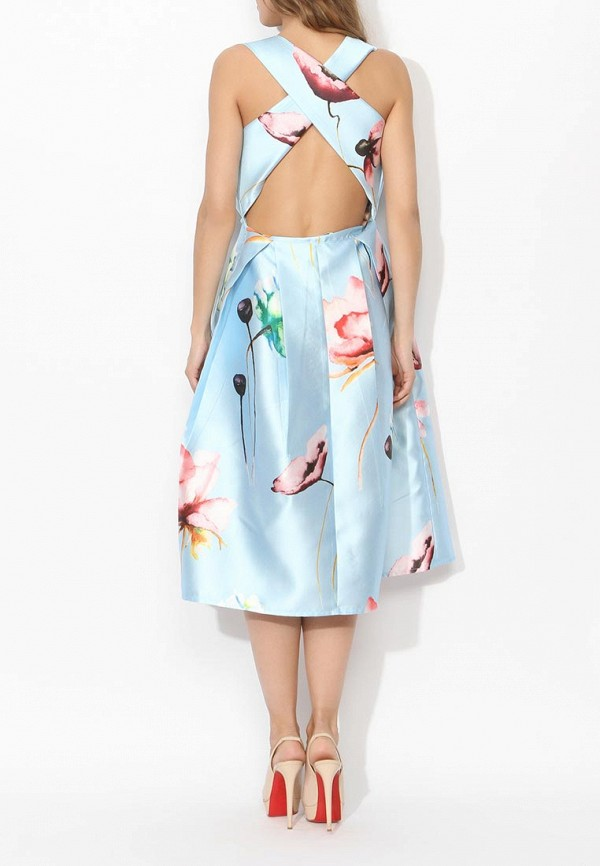 Фото 4 - женское вечернее платье Tutto Bene голубого цвета