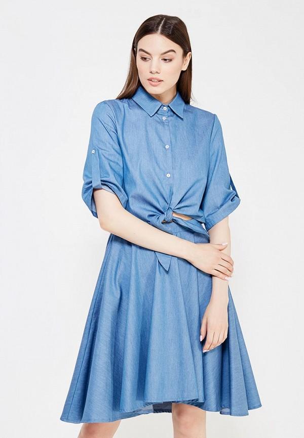 все цены на Платье джинсовое Tutto Bene Tutto Bene TU009EWTKZ98 онлайн