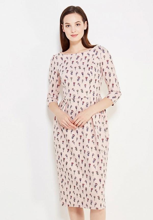 Фото - женское платье Tutto Bene розового цвета