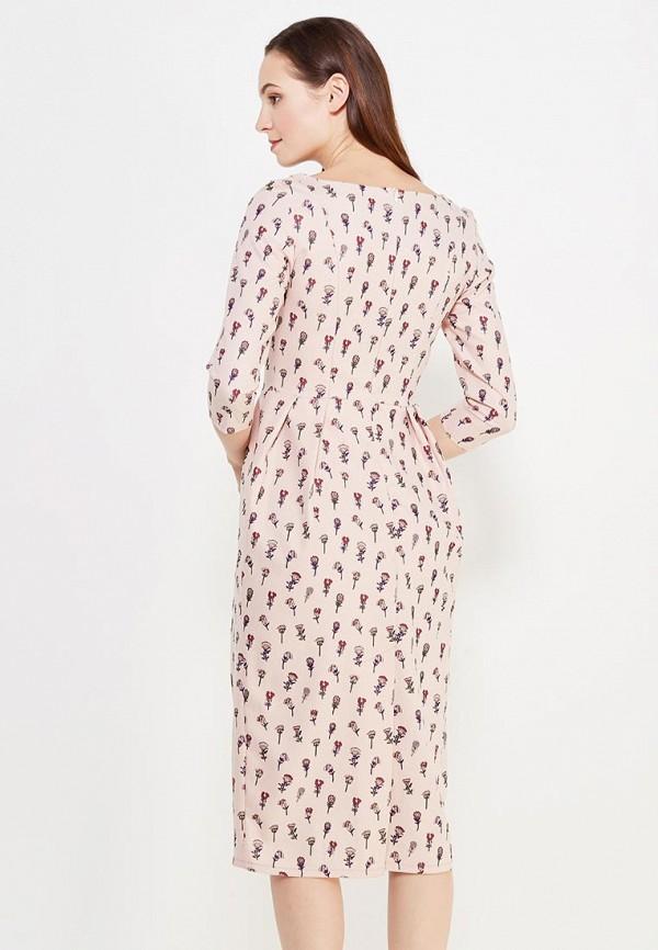 Фото 3 - женское платье Tutto Bene розового цвета
