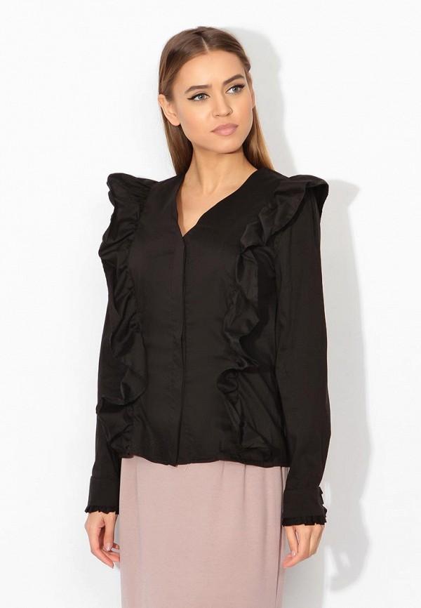 Фото - женскую блузку Tutto Bene черного цвета