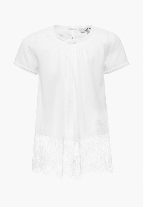Купить Блуза Twin-Set Simona Barbieri, TW005EGAOZT9, белый, Весна-лето 2018