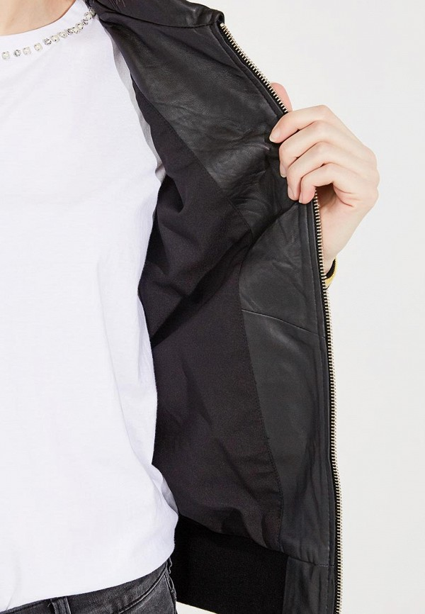 Фото Куртка кожаная Twin-Set Simona Barbieri. Купить в РФ