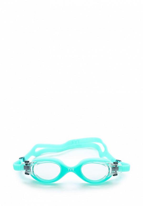 Очки для плавания TYR TYR TY003DWTDB53 шапочка для плавания tyr tyr ty003dujzb79