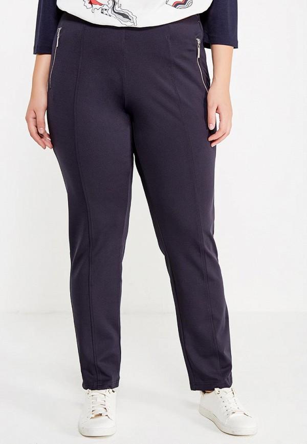 Фото - мужские брюки Ulla Popken синего цвета