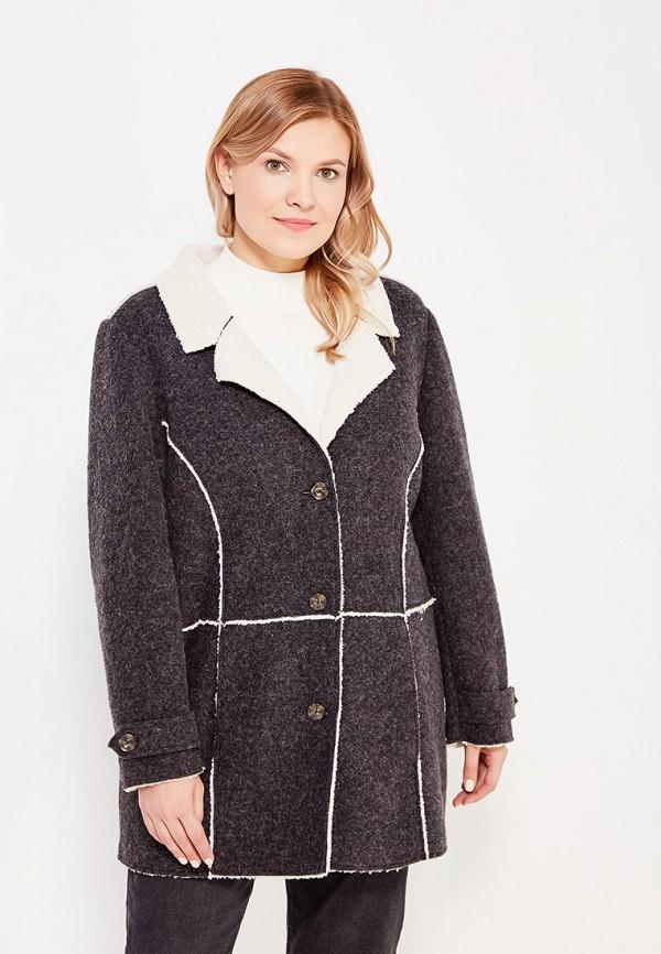 Пальто Ulla Popken Ulla Popken UL002EWWCG01 блуза ulla popken ulla popken ul002ewwcg26