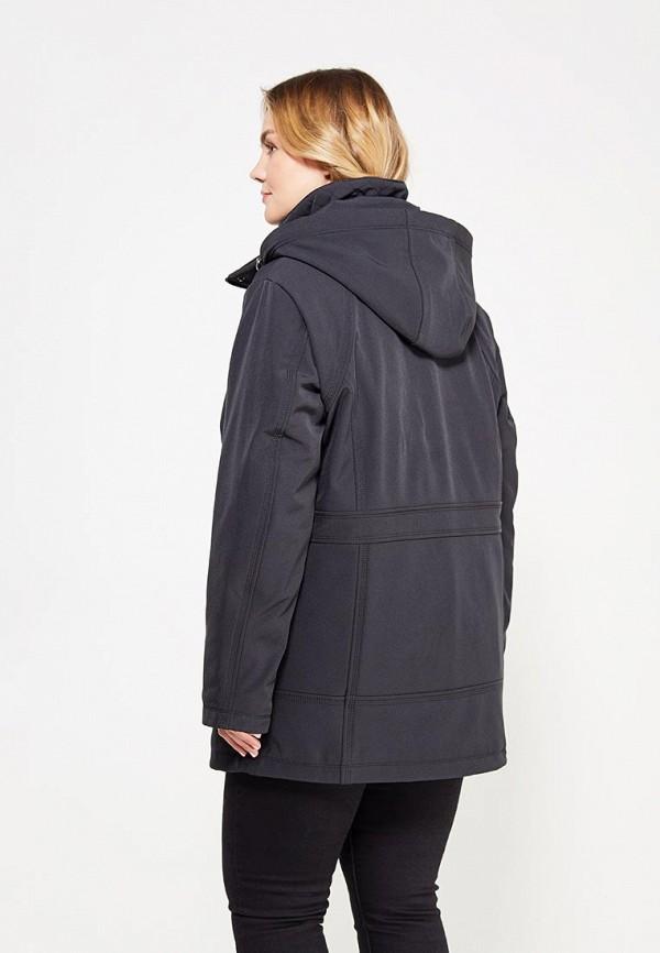 Фото 3 - Куртку утепленная Ulla Popken черного цвета