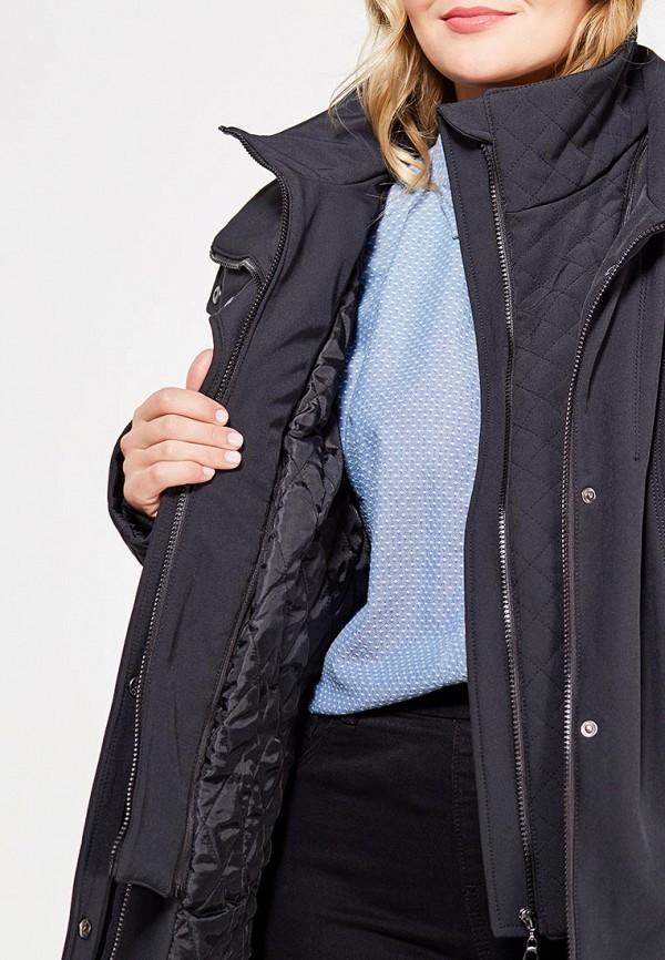 Фото 4 - Куртку утепленная Ulla Popken черного цвета
