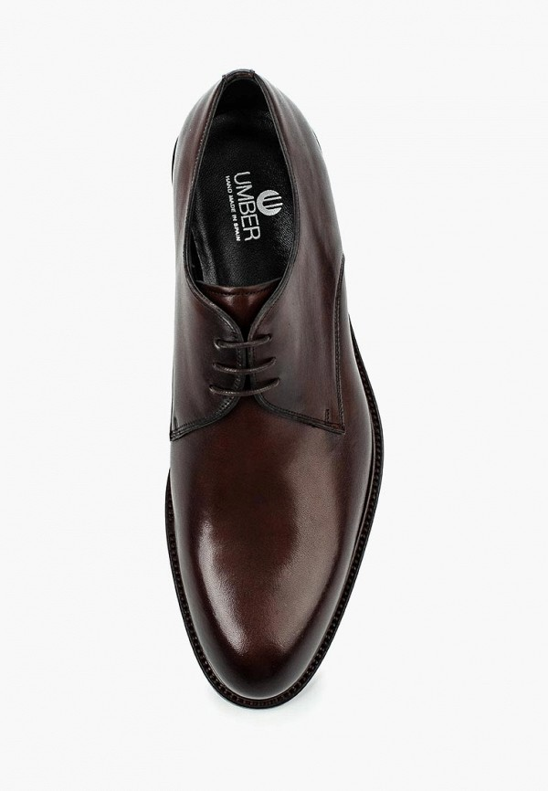 Фото 8 - мужские туфли Umber коричневого цвета