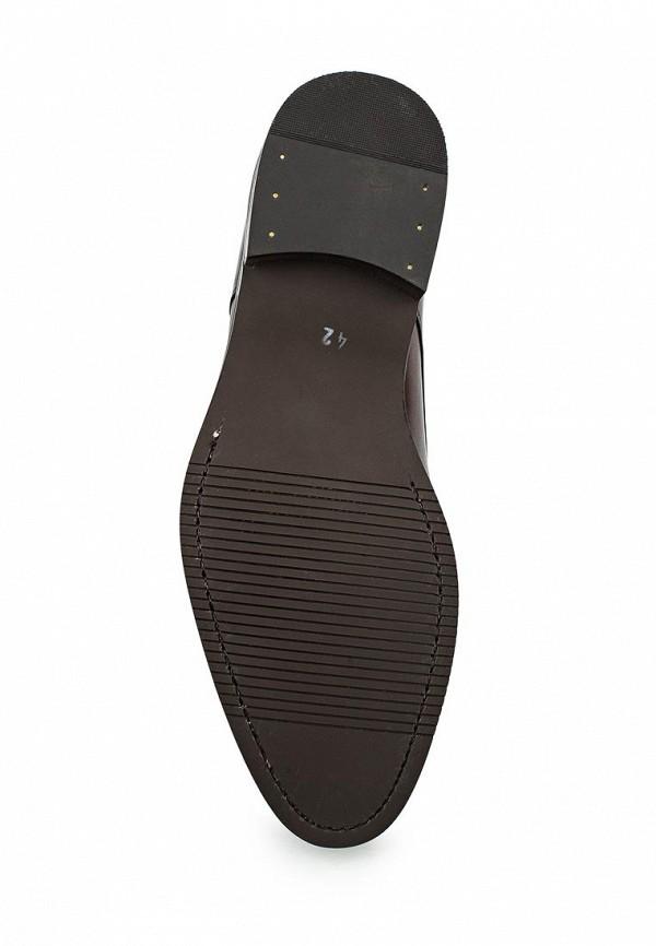 Фото 3 - мужские туфли Umber коричневого цвета