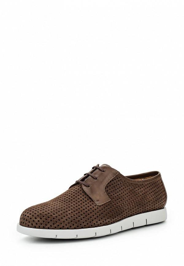 Фото - мужские туфли Umber коричневого цвета