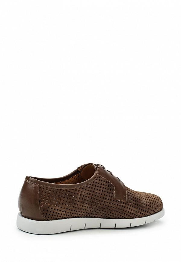Фото 2 - мужские туфли Umber коричневого цвета