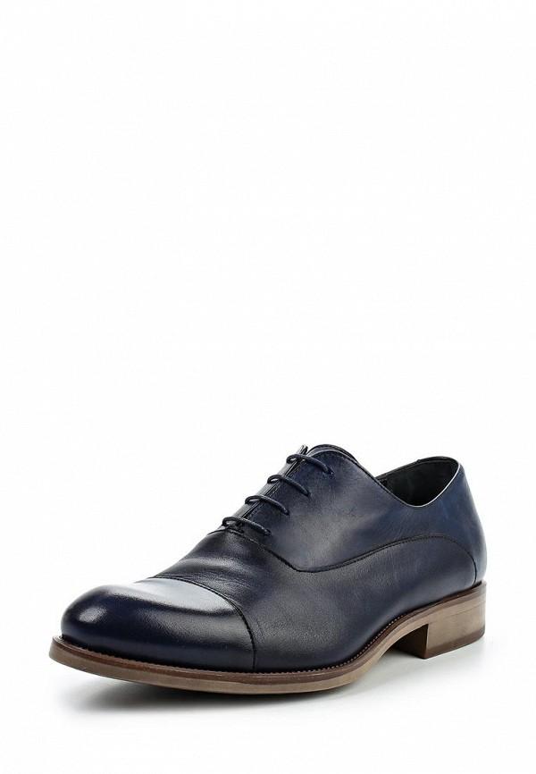 Фото - мужские туфли Umber синего цвета