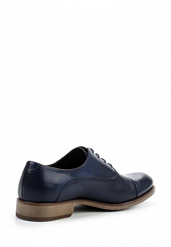 Фото 2 - мужские туфли Umber синего цвета
