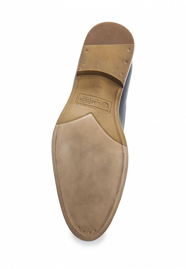 Фото 3 - мужские туфли Umber синего цвета