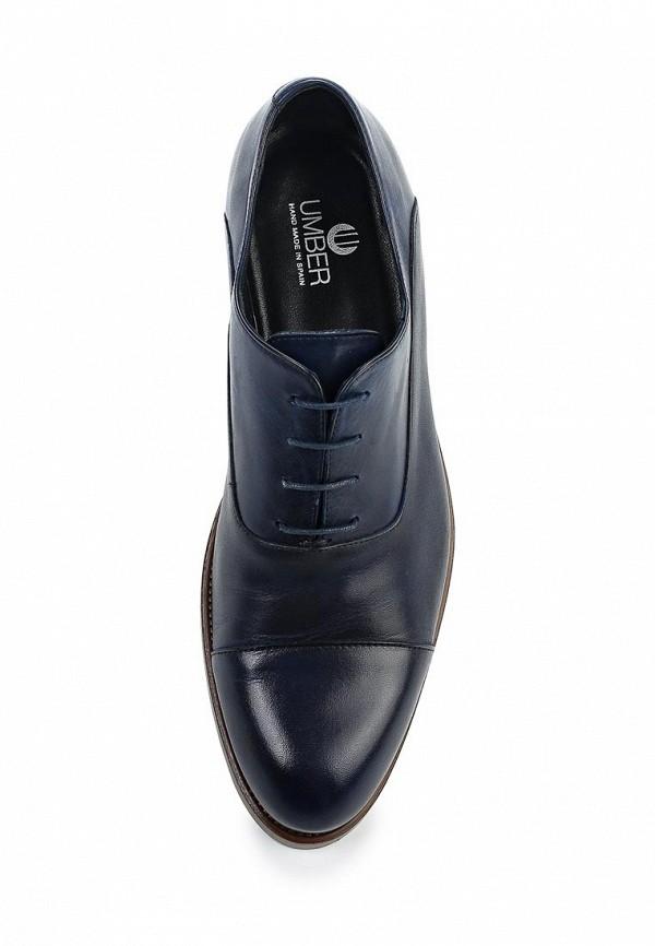 Фото 4 - мужские туфли Umber синего цвета