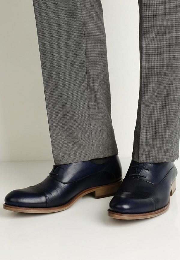 Фото 5 - мужские туфли Umber синего цвета