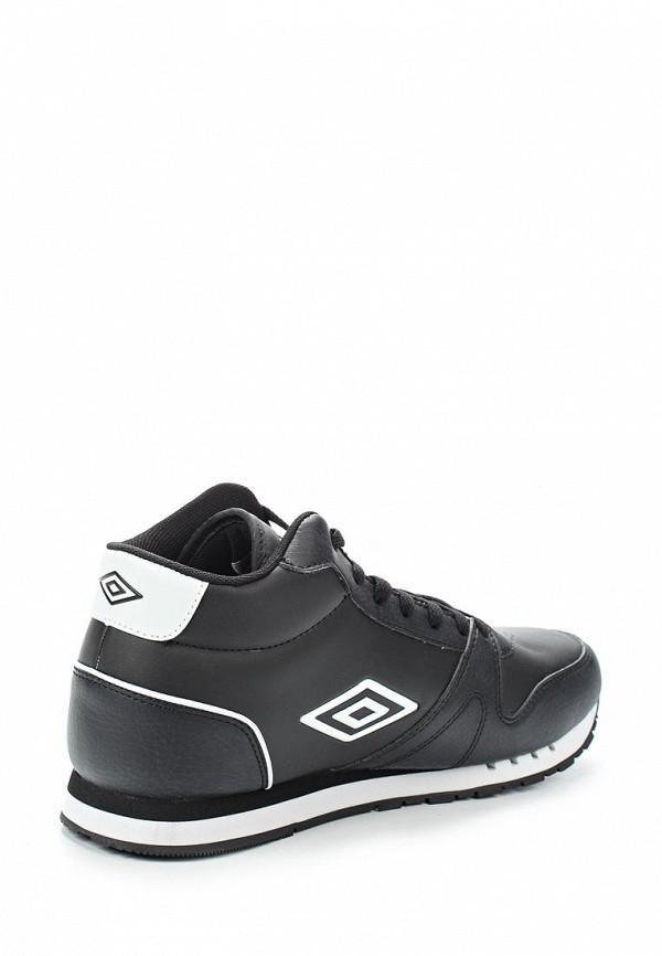 Фото 2 - мужские кроссовки Umbro черного цвета