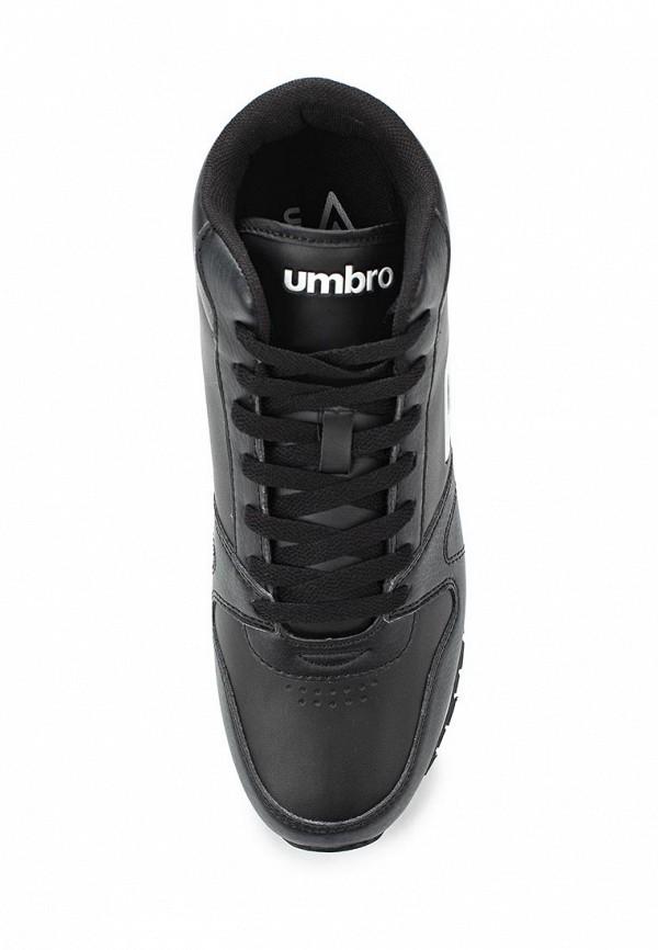Фото 4 - мужские кроссовки Umbro черного цвета