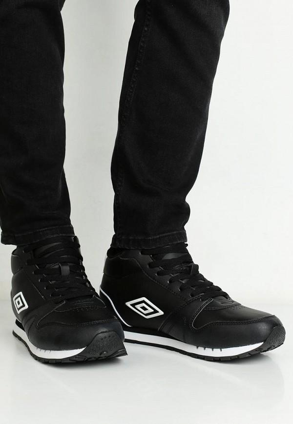 Фото 5 - мужские кроссовки Umbro черного цвета