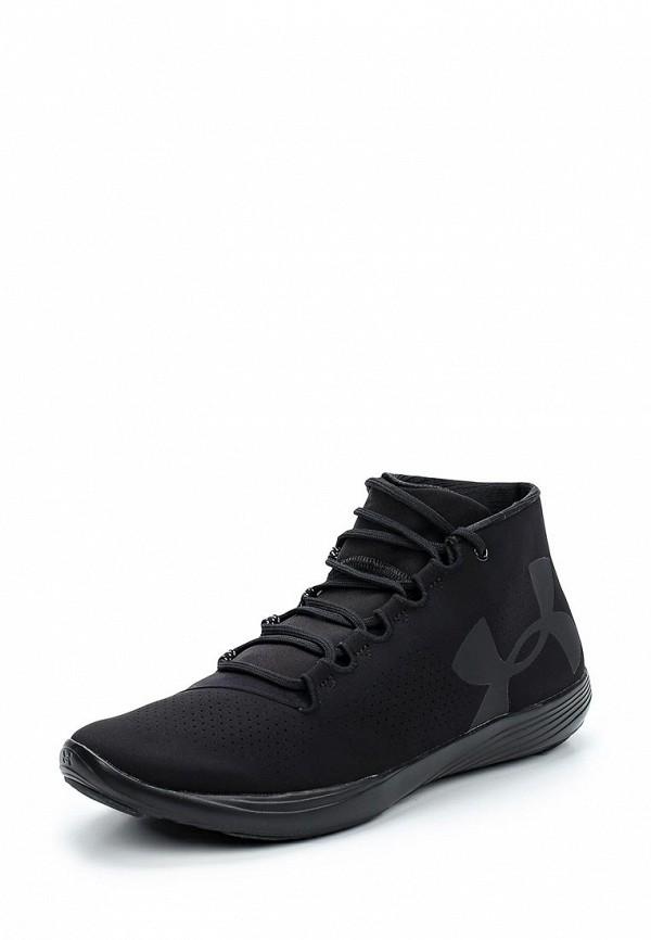 Фото - женские кроссовки Under Armour черного цвета