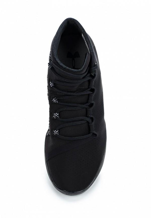 Фото 4 - женские кроссовки Under Armour черного цвета