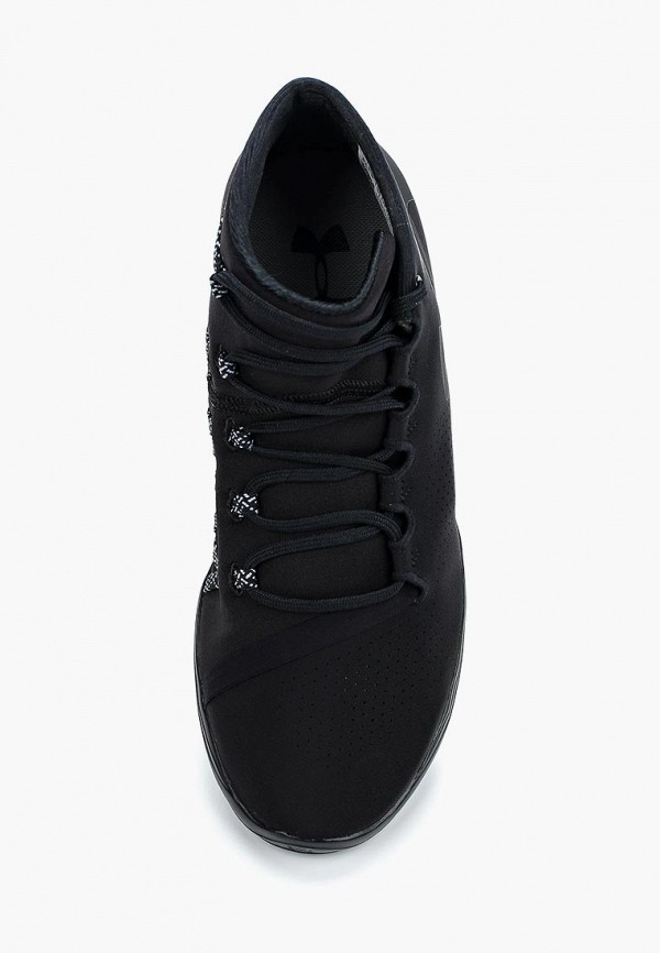 Фото 9 - женские кроссовки Under Armour черного цвета