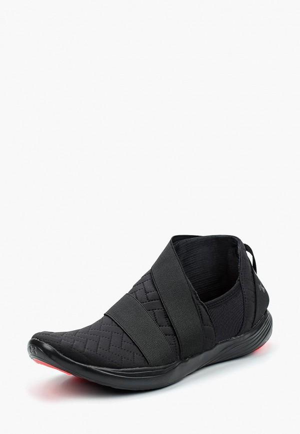 Фото 6 - женские кроссовки Under Armour черного цвета