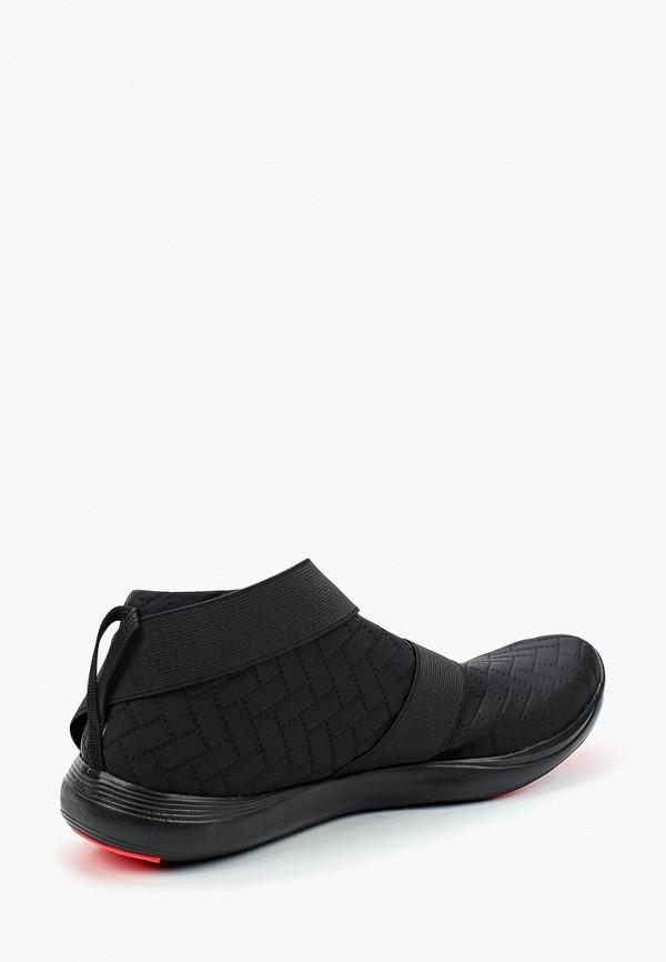 Фото 7 - женские кроссовки Under Armour черного цвета