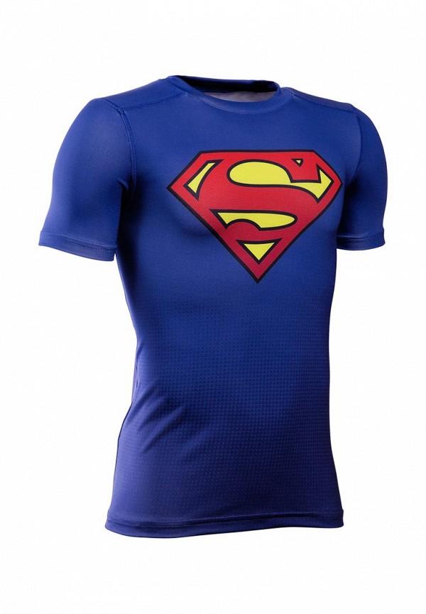 Купить Футболка спортивная Under Armour, Under Armour® Alter Ego DC Superhero Fitted, UN001EBTVM76, синий, Осень-зима 2017/2018