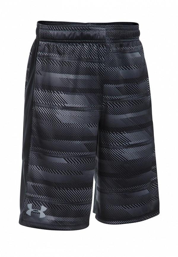 Купить Шорты спортивные Under Armour, UA Stunt Printed Short-BLK, UN001EBXVU00, черный, Осень-зима 2017/2018