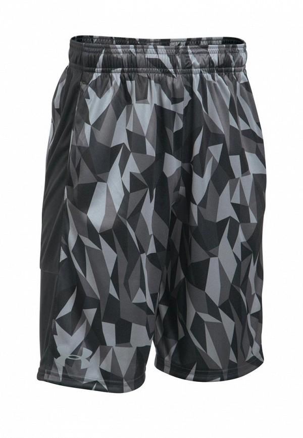 Купить Шорты спортивные Under Armour, UA Stunt Printed Short-BLK, UN001EBXVU01, черный, Осень-зима 2017/2018
