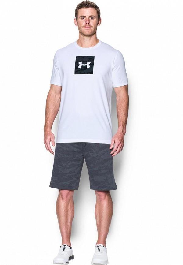 Купить Футболка спортивная Under Armour, UA Camo Boxed Logo SS, UN001EMXRW39, белый, Осень-зима 2017/2018
