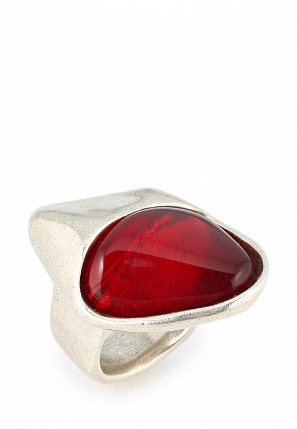 Кольцо UNO de 50. Цвет: красный, серебряный
