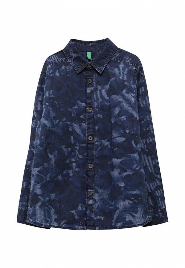 Фото Рубашка джинсовая United Colors of Benetton. Купить с доставкой