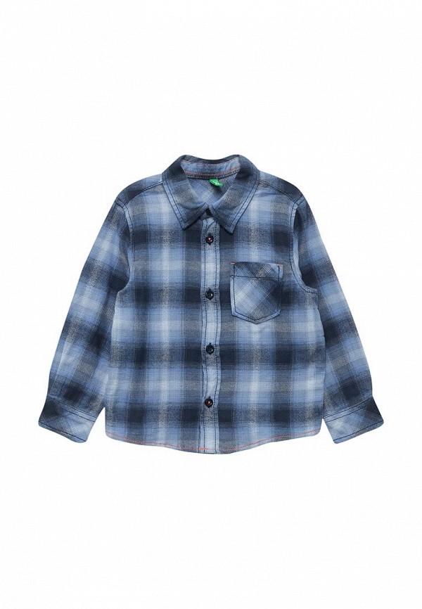 Купить Рубашка United Colors of Benetton, UN012EBWTL30, голубой, Осень-зима 2017/2018