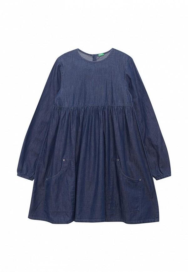 Платье джинсовое United Colors of Benetton United Colors of Benetton UN012EGABRB1