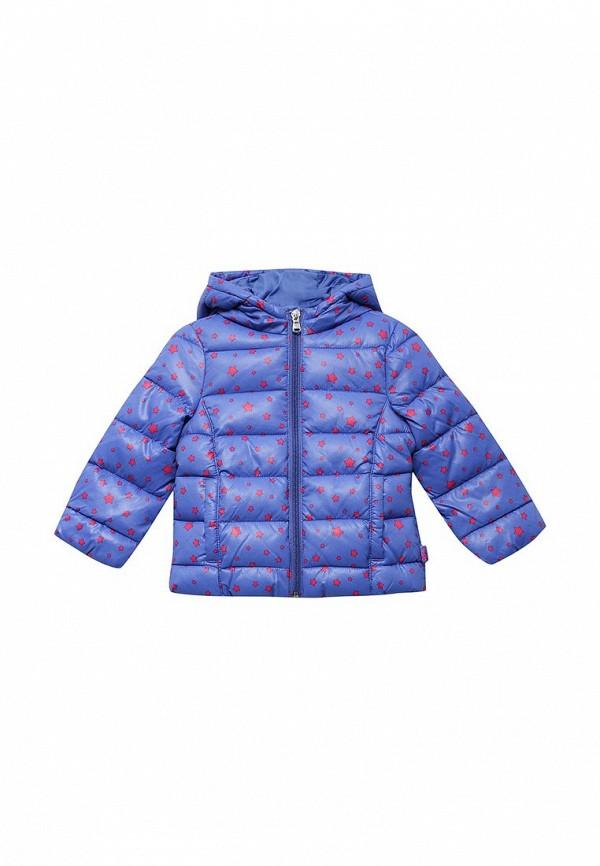 Куртка утепленная United Colors of Benetton. Цвет: синий