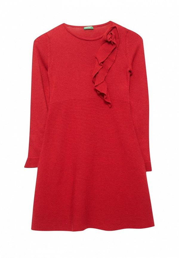 Фото - Платье United Colors of Benetton красного цвета