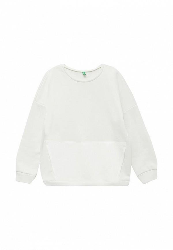 Фото - Свитшот United Colors of Benetton белого цвета