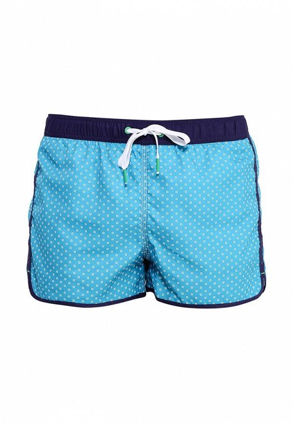 Купить Шорты для плавания United Colors of Benetton голубого цвета