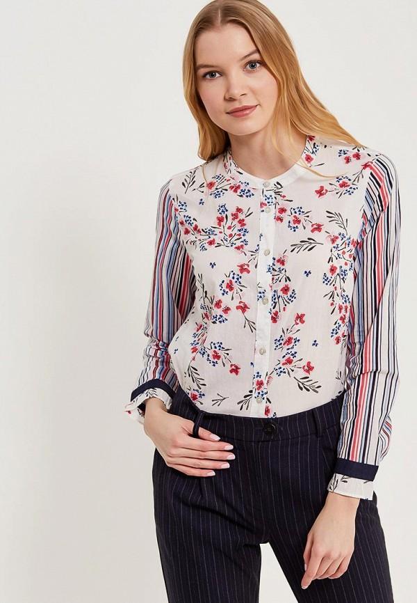 Фото - женскую блузку United Colors of Benetton разноцветного цвета