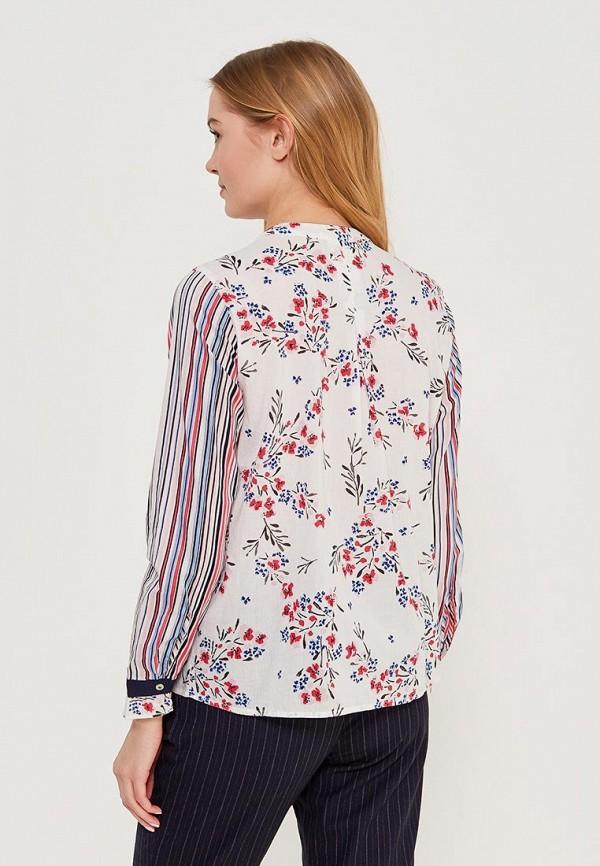 Фото 3 - женскую блузку United Colors of Benetton разноцветного цвета