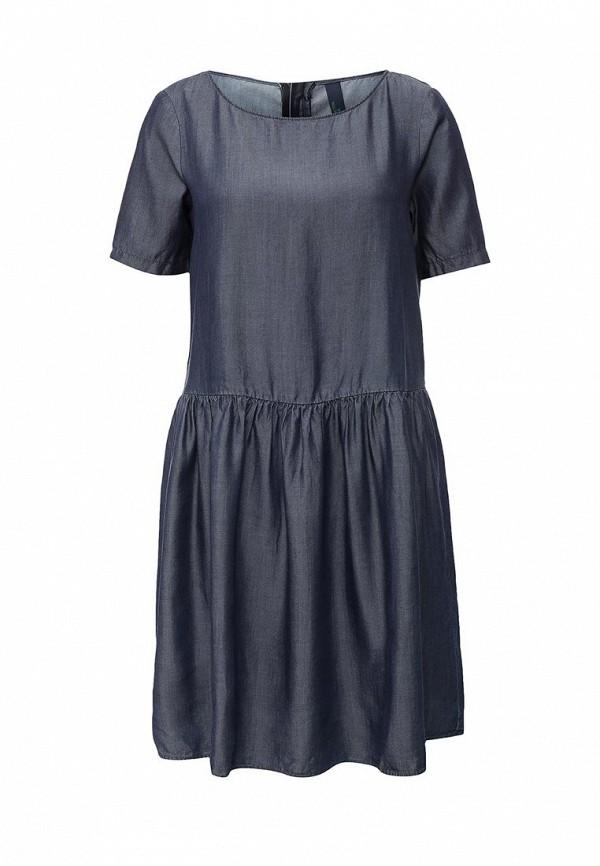 Платье-миди United Colors of Benetton (Юнайтед Колорс оф Бенеттон) 4S2RKV2K3