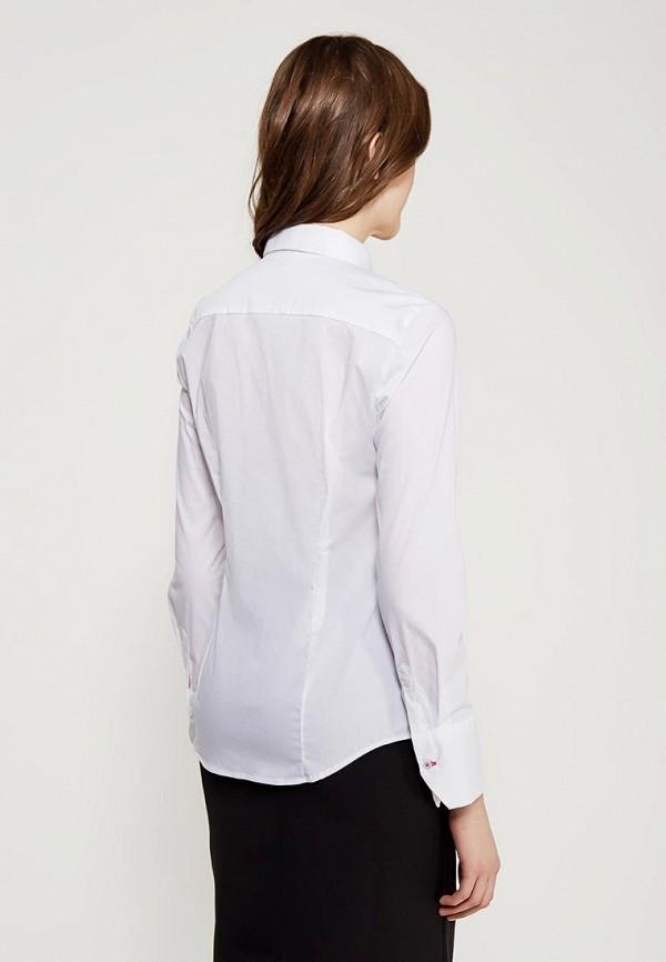 Фото 3 - женскую рубашку United Colors of Benetton белого цвета